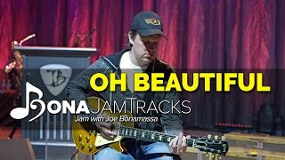 "Bona Jam Tracks - ""Oh Beautiful"" - Official Joe Bonamassa Guitar Backing Tracks in E Minor"