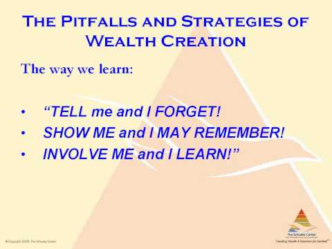 The Pitfalls of Creating Wealth