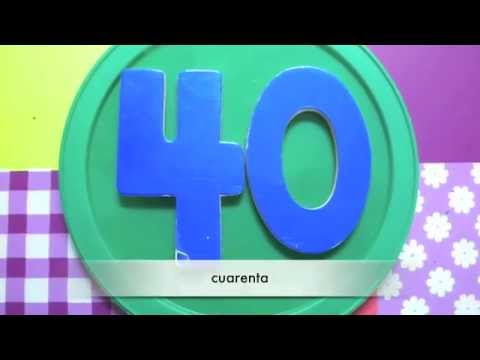 Spanish For Kids - Counting to 100 by Tens - YouTube