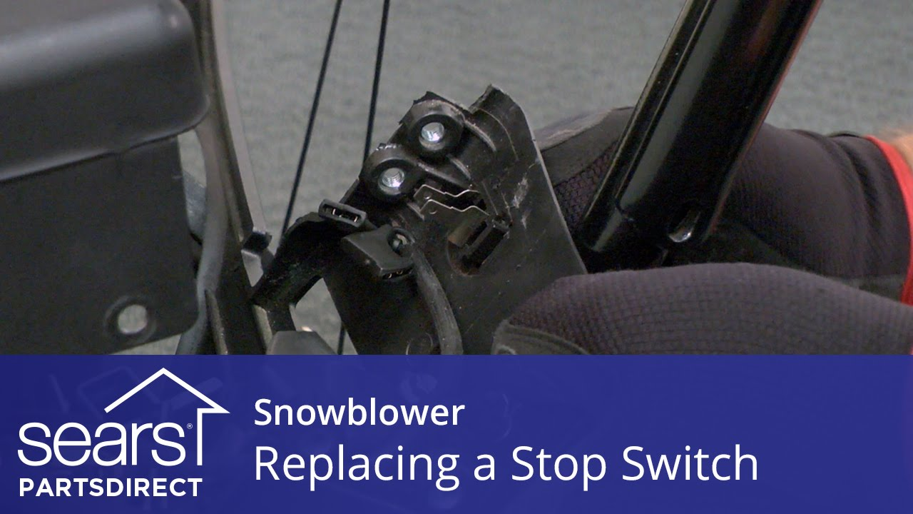 Replacing a Stop Switch on a Snowblower YouTube – Kill Switch Ariens Snowblower Wiring-diagram