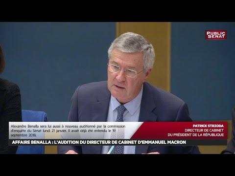 Affaire benalla : nouvelles auditions au Sénat - Evénement (16/01/2019)