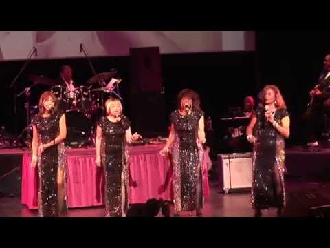 The Velvelettes on stage at the R&B Hall of Fame.