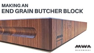 How to Make a Walnut End Grain Butcher Block