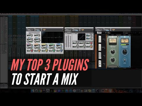 My Top 3 Plugins To Start A Mix – RecordingRevolution.com