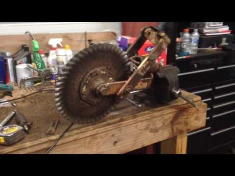 Marliss Grain Drill Rebuild Part 3 YouTube
