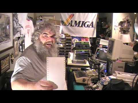 Commodore - Episode 230 - Hunt For Tractor Paper MPS-801 Printer - David Bradley - C64 C128 Vic20