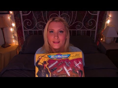 Time Travel Tuesday: Indiana Jones Micro Machines - ASMR - Soft Spoken, Focused Tasks, Tapping