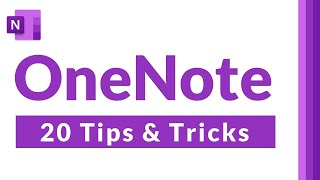 Top 20 Microsoft OneNote Tips and Tricks 2021   How to use OneNote effectively & be more organized screenshot 5