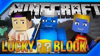 Minecraft: Parkour com LuckyBlock ft.Luix1227 e Afreim