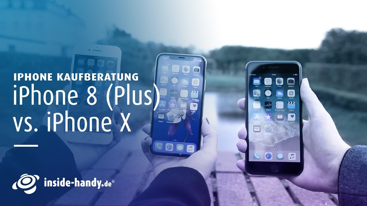 iphone x vs iphone 8 plus welches iphone kaufen youtube. Black Bedroom Furniture Sets. Home Design Ideas