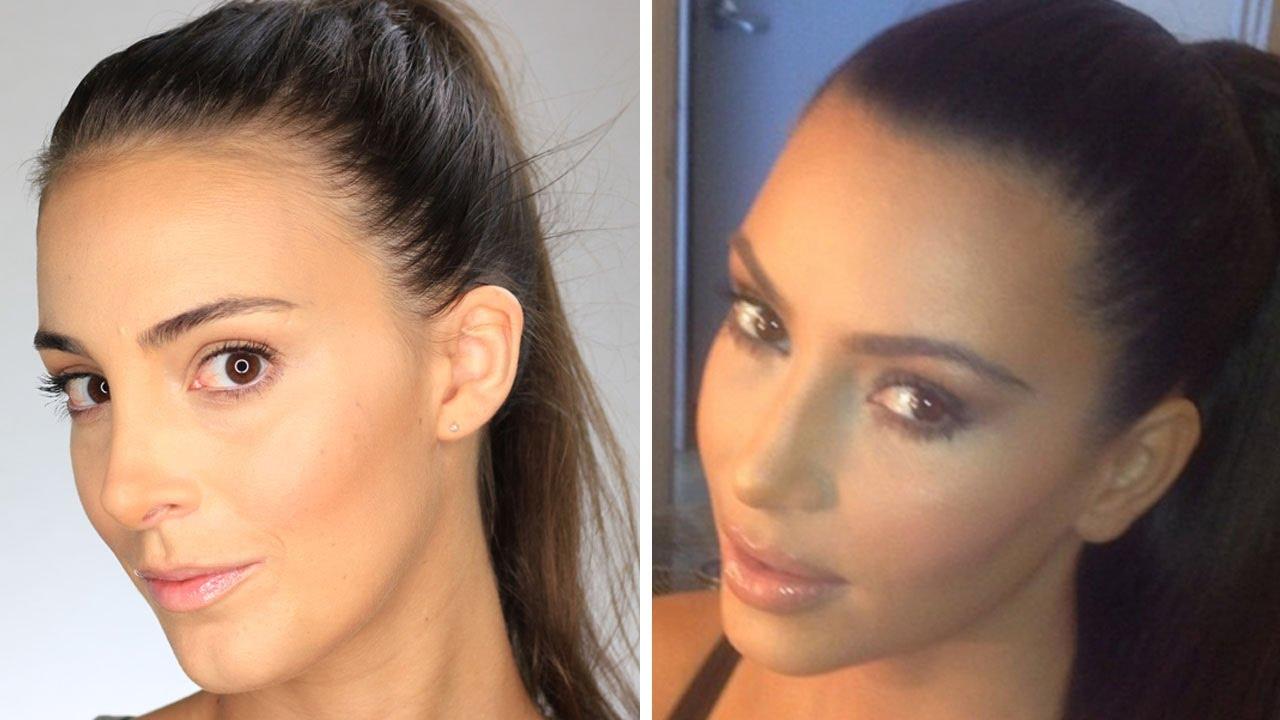Tuto maquillage contouring de kim kardashian youtube - Comment faire le maquillage de kim kardashian ...