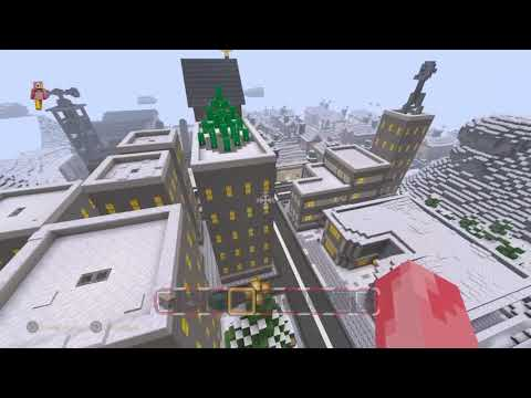 Christmas Minecraft World.Access Youtube