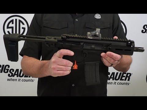 SIG Sauer - MCX Rattler .300 Blackout w/ Pistol Brace