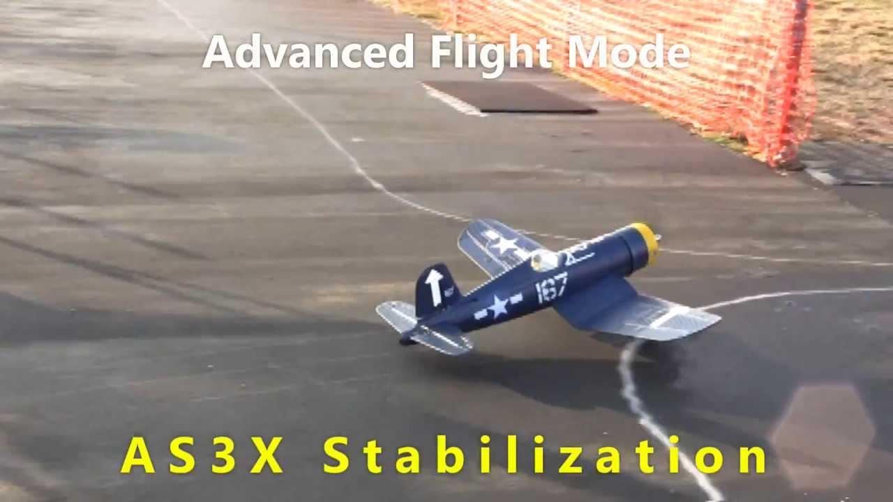 HobbyZone F4U Corsair with SAFE Technology