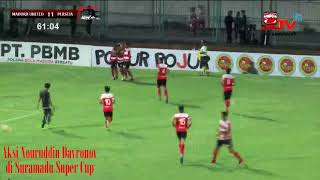 Aksi-Aksi Nouriddin Davrono di Piala Suramadu 2018