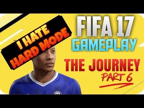 Fifa 17 The Journey Part 6 I HATE HARD MDOE