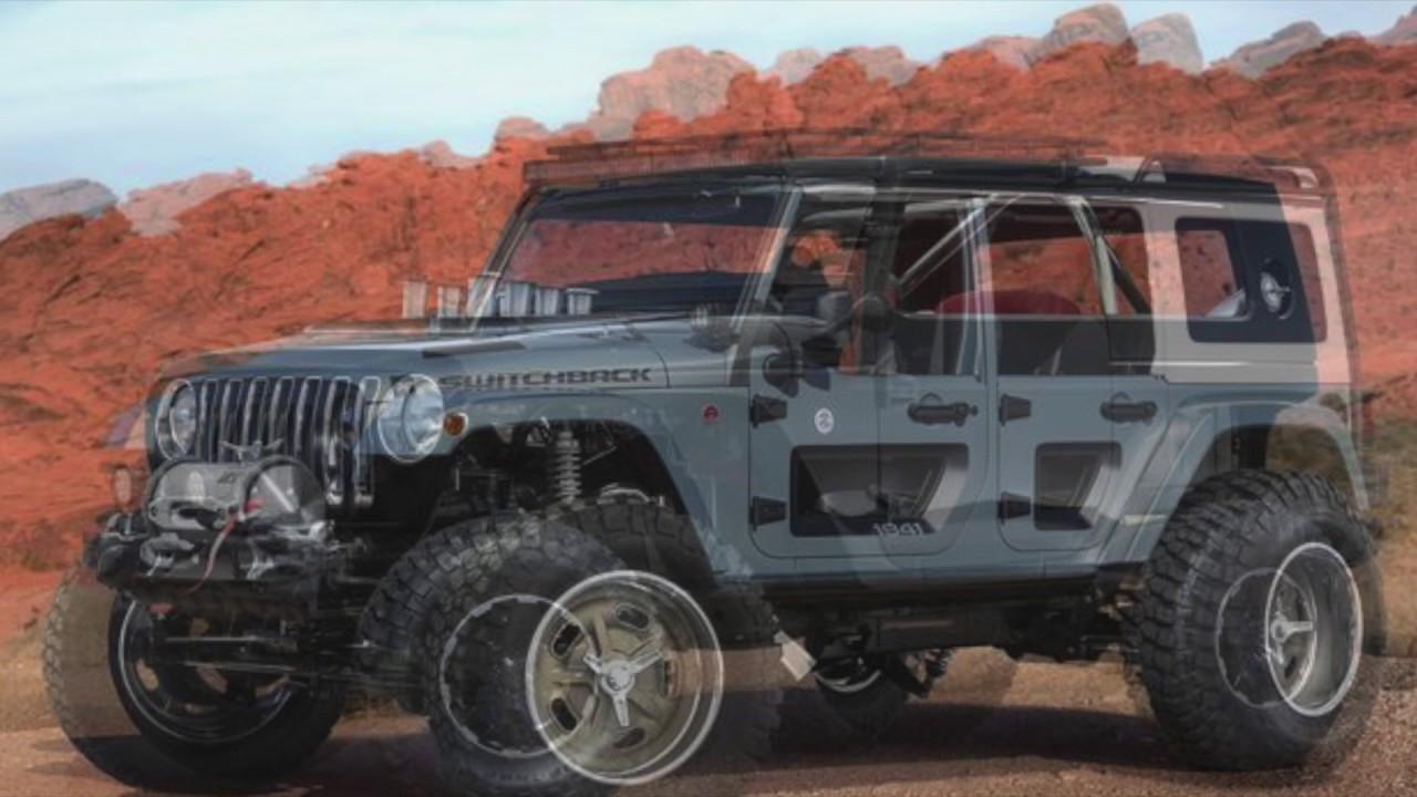 jeep concept vehicles for 2017 easter jeep safari steve landers chrysler dodge jeep ram youtube. Black Bedroom Furniture Sets. Home Design Ideas