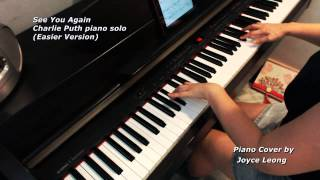 Furious 7 - Charlie Puth (no rap) - See You Again (Easier version) Piano Cover + Sheets