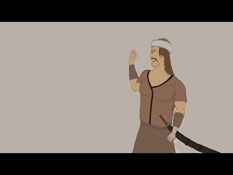 Kürşad Destanı El yapımı Çizgi Film Animasyon/Animation