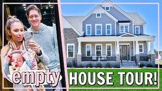 MY DREAM HOME EMPTY HOUSE TOUR! Before Moving In | Alexandra Beuter