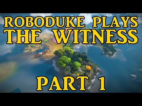 RoboDuke Plays The Witness - Part 1