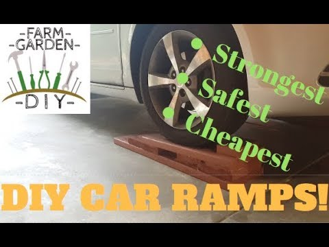 Build the safest DIY car & truck ramps cheap & easy!
