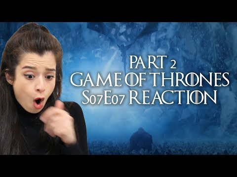 P2: Game of Thrones S07E07 | The Wall Collapses, Ice Dragon, R+L=J Reaction Review