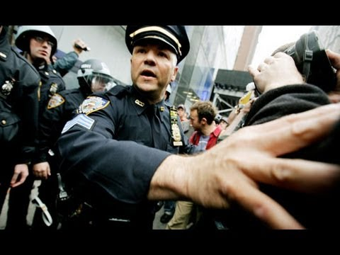Occupy Protesters Harassed by NYPD for Intelligence