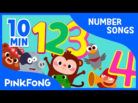 1 to 10  Number Songs  + Compilation  PINKFONG Songs for Children