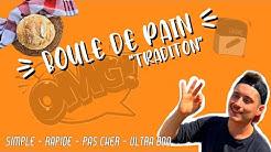 Pain (boule tradition) au COMPACTCOOK PRO 🤩