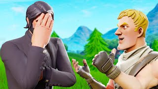 12 Year Old Kid Lies To Me.. (Fortnite Battle Royale)