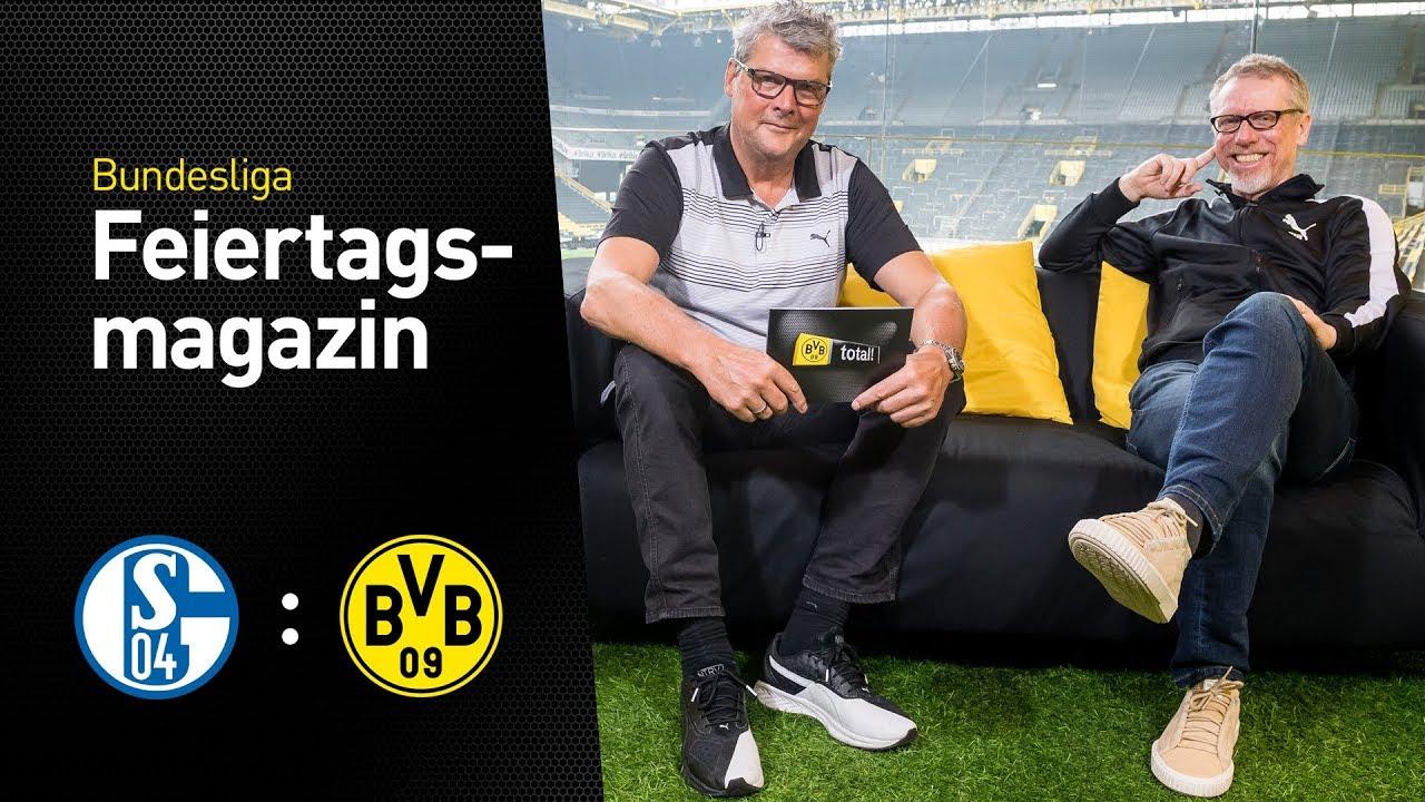 Peter Stöger im BVB total!-Derby-Feiertagsmagazin |