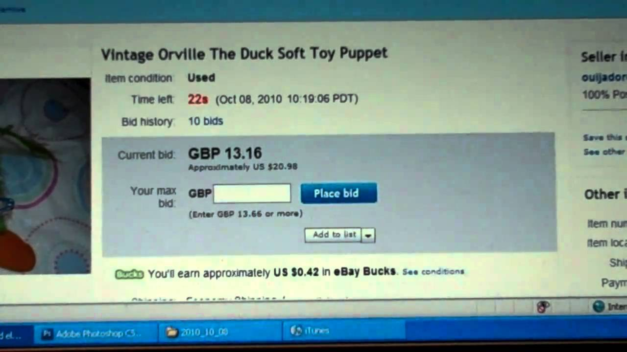 How To Snipe An Auction On Ebay Aka Win More And Pay Less Youtube