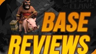 Clash of Clans: TH8 Base Reviews