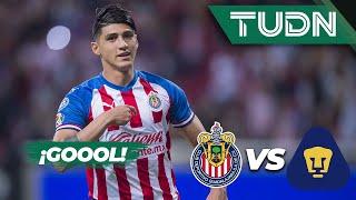 ¡Goool de Pulido! | Guadalajara 1 - 0 Pumas | Liga Mx - AP 19 - J13 | TUDN