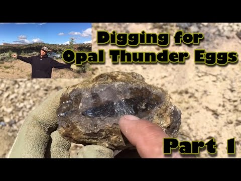 Amazing Thunder Eggs @ The Richardson's Rec Rock Ranch - America Ep9A - 6/14/2016  - Madras Oregon