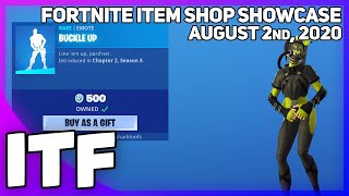 Fortnite Item Shop *NEW* BUCKLE UP EMOTE! [August 2nd, 2020] (Fortnite Battle Royale)
