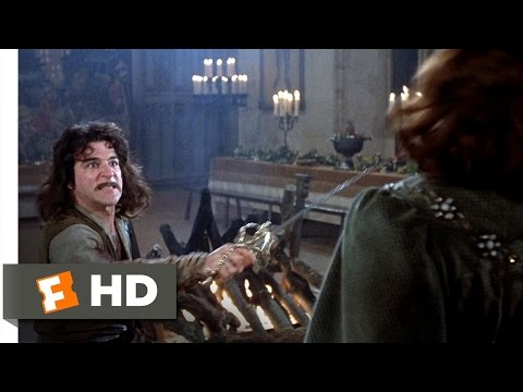 The Princess Bride (11/12) Movie CLIP - My Name Is Inigo Montoya (1987) HD