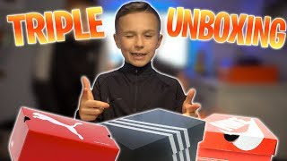 HUGE TRIPLE UNBOXING | CRAZIEST FOOTBALL BOOTS EVER ?!? | PRO DIRECT DELIVERY