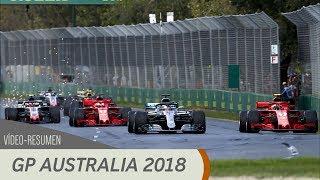 Resumen del GP de Australia - F1 2018