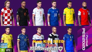 Pes 2020 Pc // National Teams Kits Update // RefKit Server v1.0 // All Links In the Description