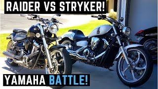 Raider vs. Stryker! Side by Side Comparison 0-60 Yamaha Battle! Which is Better or Best Walk Around
