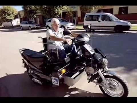 Moto para sillas de ruedas venta del proyecto youtube for Sillas para motos