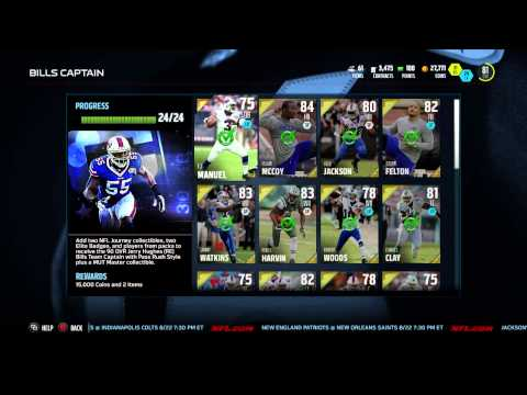 Madden 16: Captain Jerry Hughes is mine!!!!!!!!!