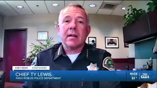 Controversy after Paso Robles Police Chief removes flag from station