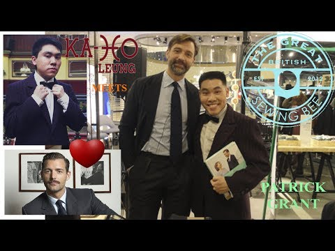 What an Awesome Day with my Idol, Patrick Grant!