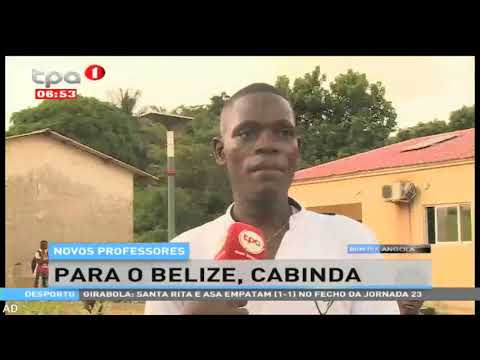 Novos professores para o Belize, Cabinda