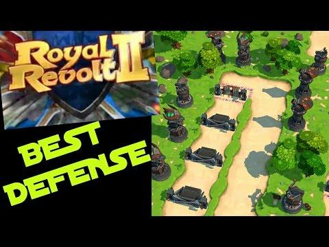 ROYAL REVOLT 2 - BEST BASE DEFENSE DESIGN