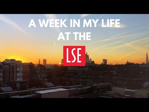 A week in my life at the LSE!