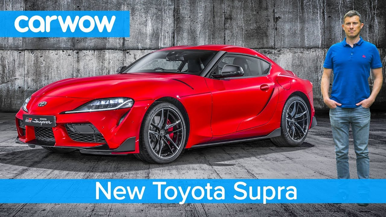 New Toyota Supra 2020 Exclusive Footage Everything You Need To